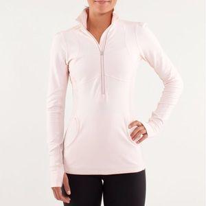Lululemon 6 Star Runner Pink 1/2 Zip Jacket Cuffin